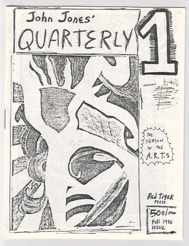 JOHN JONES' QUARTERLY #1 mini-comic WILLIAM DOCKERY 1986