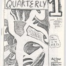 JOHN JONES&#39; QUARTERLY #1 mini-comic WILLIAM DOCKERY 1986