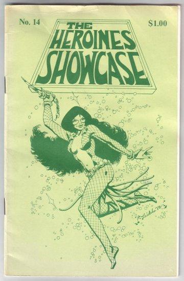 HEROINES SHOWCASE #14 Steve Leialoha LELA DOWLING 1978 fanzine