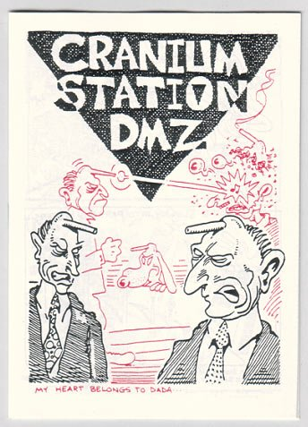 CRANIUM STATION DMZ mini-comic STEVE WILLIS Starhead ed.