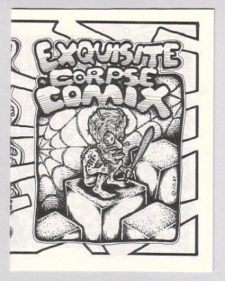 EXQUISITE CORPSE COMIX #14 Bill Shut JEFF GAITHER 1990