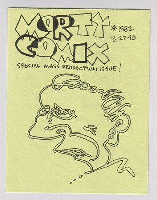 MORTY COMIX #1882 mini-comic STEVE WILLIS 1990