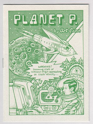 PLANET P mini-comic 1996 ART PENN pot comix