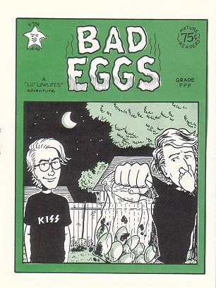 BAD EGGS mini-comic ED BRUBAKER 1994