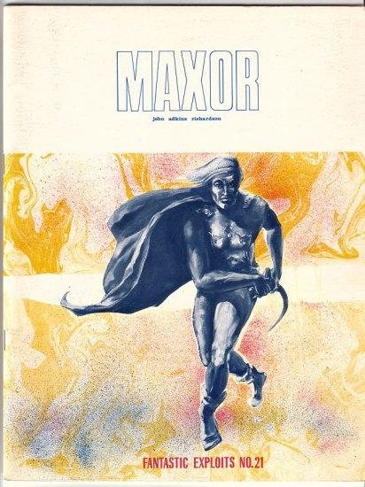 FANTASTIC EXPLOITS 21 John Adkins Richardson 1971 Maxor
