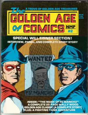 GOLDEN AGE OF COMICS #2 fanzine WILL EISNER Wood 1982