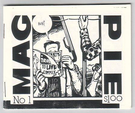 MAGPIE #1 Canadian mini-comic D.R. BOYLE comix 1991