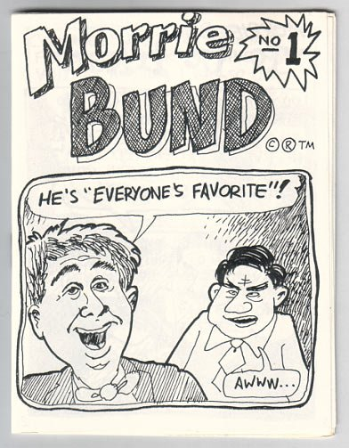 MORRIE BUND #1 mini-comic FRANK YOUNG 1987