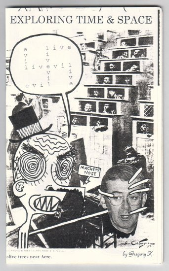 EVILIVEVIL mini-comic zine GREGORY KALYNIUK 1980s