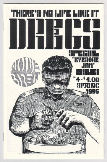 DREGS #4 mini-comic SCOTT MARSHALL 1995 Canadian