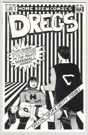 DREGS #3 mini-comic SCOTT MARSHALL 1994