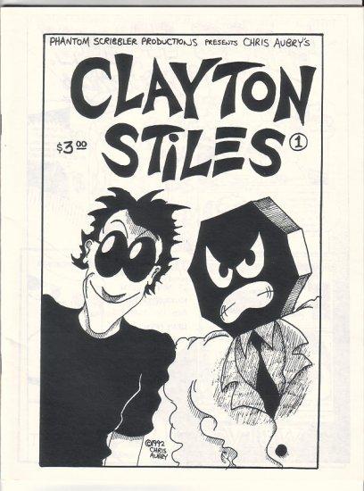 CLAYTON STILES #1 mini-comic MATT FEAZELL Chris Aubry 1992