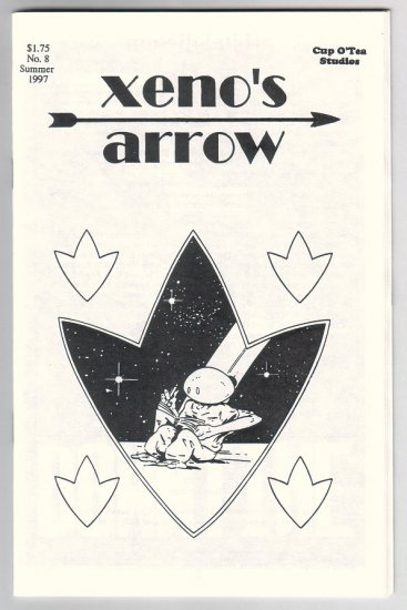 XENO'S ARROW #8 mini-comic GREG BEETTAM 1997