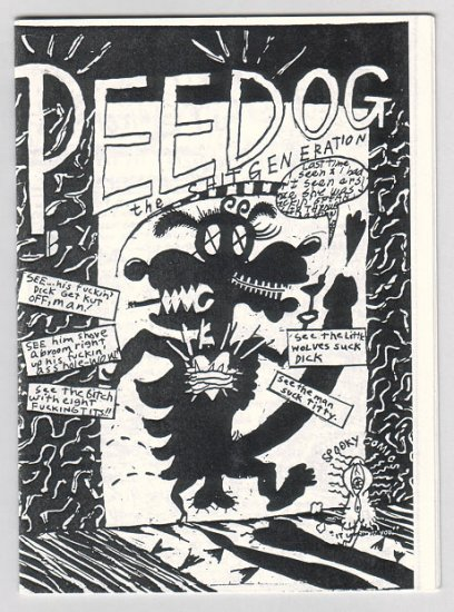 PEE DOG Sht Generation mini-comic GARY PANTER 1980s