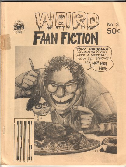 WEIRD FAAN FICTION 3 fanzine JOHN WORKMAN Gafford 1976