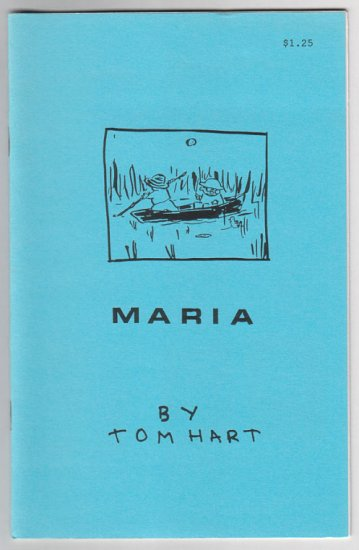 MARIA early TOM HART mini-comic 1995