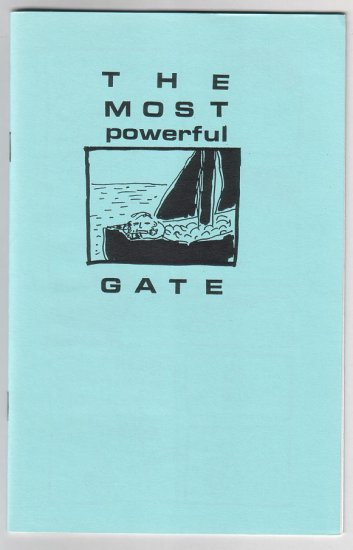 THE MOST POWERFUL GATE mini-comic TOM HART 1995