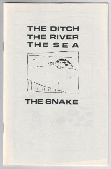 THE DITCH, THE RIVER mini-comic TOM HART 1996