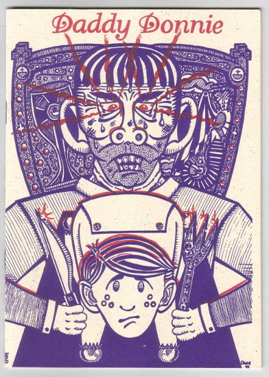 DADDY DONNIE mini-comic DAN-PATRICK EVARTS 1995