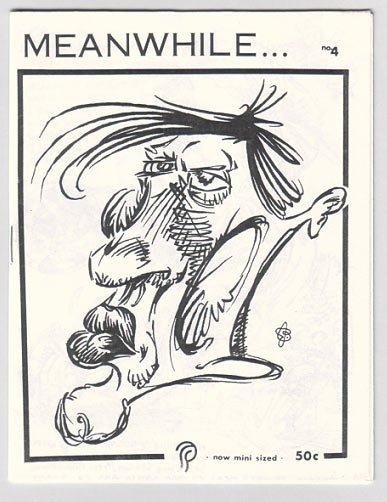 MEANWHILE #4 mini-comic CHUCK BALDOCK 1992