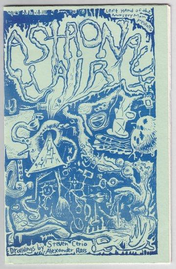 ASTRONAUT HAIR mini-comic STEVEN CERIO Alex Ross 1989