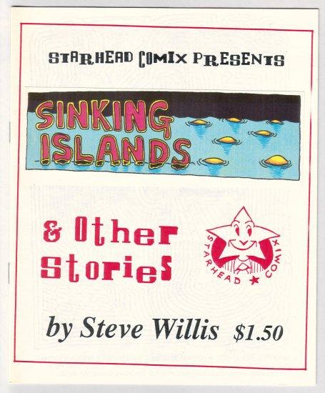 SINKING ISLANDS mini-comic STEVE WILLIS 1992 rare