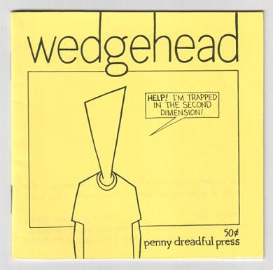 WEDGEHEAD mini-comic JASON LUTES 1991