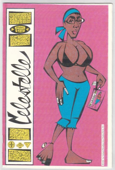 CELESTELLE #1 mini-comic YUL TOLBERT 1998