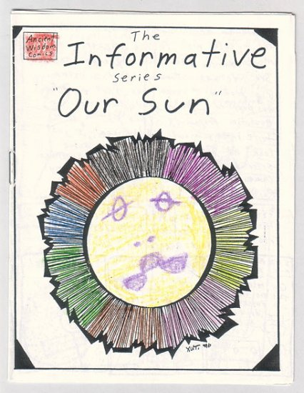 OUR SUN mini-comic AARON TRUDGEON Yul Tolbert 1996