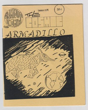 THE COSMIC ARMADILLO #1 mini-comic JAMES LINDBLOOM 1986