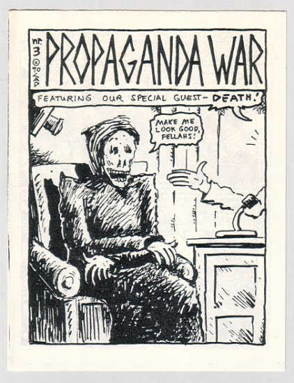 PROPAGANDA WAR #3 minicomic CLARK A. DISSMEYER