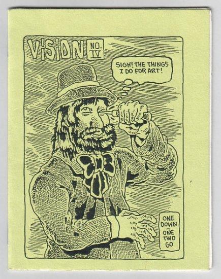 VISION #4 mini-comic PARSONAVICH 1988 newave comix