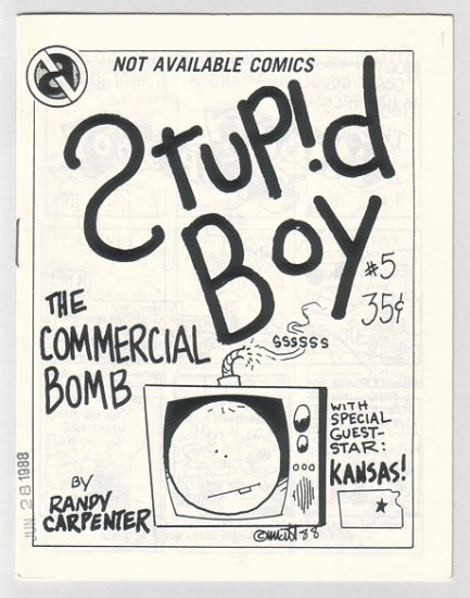 STUPID BOY #5 minicomic MATT FEAZELL 1988
