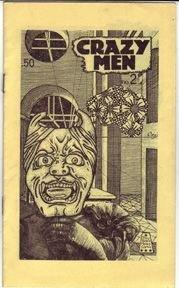 CRAZY MEN #2 mini-comic MICHAEL RODEN 1984 signed *SALE 40% off