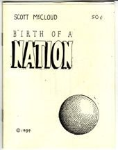 BIRTH OF A NATION mini-comic SCOTT MCCLOUD 1989 *SALE 40% off