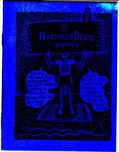 A NURTURE THE DEVIL preview mini-comic JEFF JOHNSON 1993