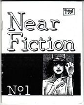 NEAR FICTION #1 mini-comic JASON LUTES 1990