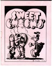 SWEET CHEEKS minicomic LARRY TODD Tom Brinkmann BRAD FOSTER 1980 *SALE 40% off