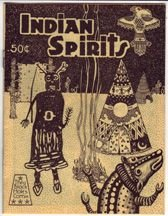 INDIAN SPIRITS mini-comic MICHAEL RODEN 1984