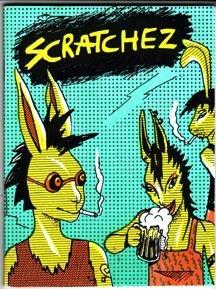 SCRATCHEZ #3 mini-comix anthology 1983