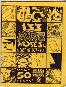 133 MORE NOSES mini-comic CLOWES Burden HENDERSON 1991