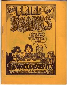 FRIED BRAINS #1 minicomic GARY WHITNEY Brad Foster BILL SHUT 1979 *SALE 40% off