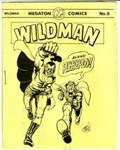 WILDMAN #0 mini-comic GRASS GREEN 1987 *SALE 40% off