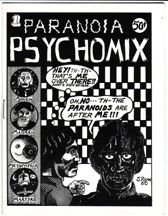 PARANOIA PSYCHOMIX mini-comic JIM RYAN Par Holman BRAD FOSTER 1980 *SALE 40% off
