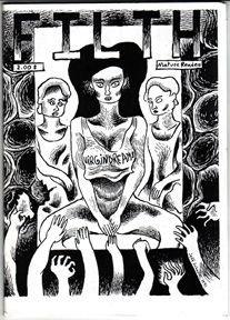 FILTH mini-comic JEFF JOHNSON 1991