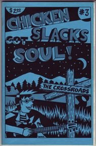 CHICKEN SLACKS #3 mini-comic FLEENER Worden MARK MARTIN 1989 *SALE 40% off