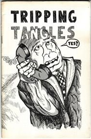 TRIPPING TANGLES #2 mini-comic CARY BRADLEY 1970 *SALE 40% off