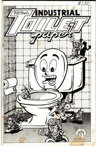 INDUSTRIAL TOILET PAPER #2 mini-comic MICHAEL RODEN Valentino BRAD FOSTER 1982 *SALE 40% off