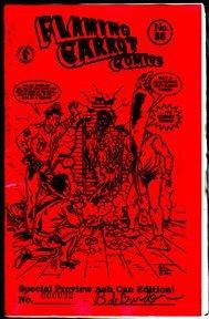 FLAMING CARROT ASHCAN #28 comix BOB BURDEN 1991 *SALE 40% off