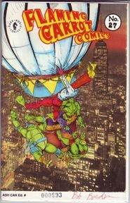 FLAMING CARROT ASHCAN #27 comix BOB BURDEN 1991 *SALE 40% off